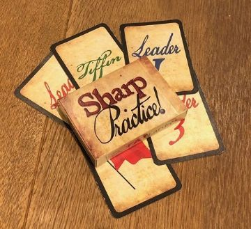 Sharp Practice skirmish rules Card Deck